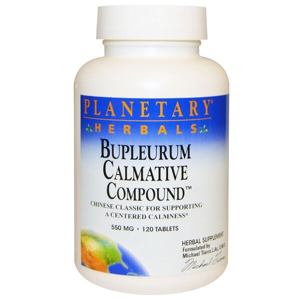 Bupleurum Calmative Compound, 550 mg, 120 Tablets