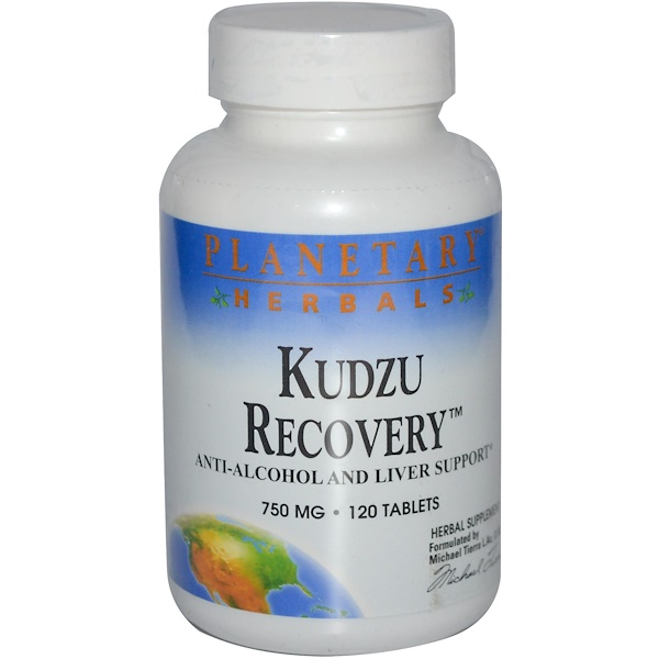 Planetary Herbals, Kudzu Recovery, 750 mg, 120 Tablets (Discontinued Item)