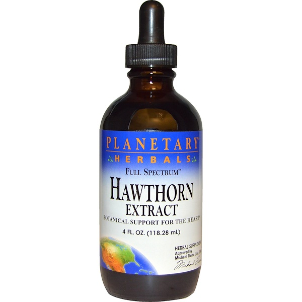 Planetary Herbals, Full Spectrum, Hawthorn Extract, 4 fl oz (118.28 ml)
