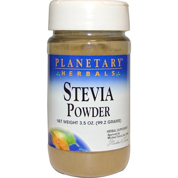 Planetary Herbals, Stevia Powder, 3.5 oz (99.2 g) (Discontinued Item)