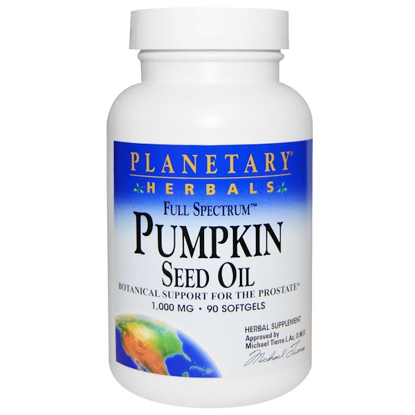 Full Spectrum, Pumpkin Seed Oil, 1,000 mg, 90 Softgels