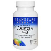 Кордицепс 450, полный спектр, 450 мг, 120 таблеток - фото