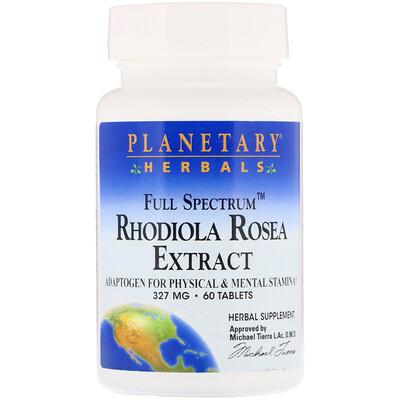 Экстракт родиолы розовой, полного спектра, 327мг, 60таблеток