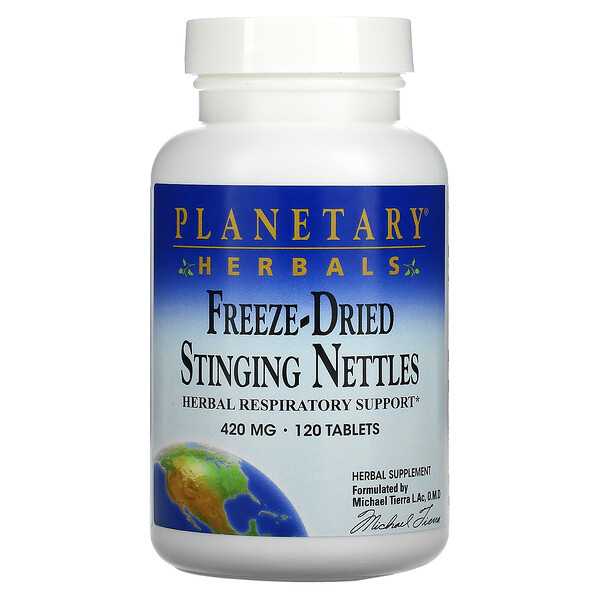 Freeze-Dried Stinging Nettles, 420 mg, 120 Tablets