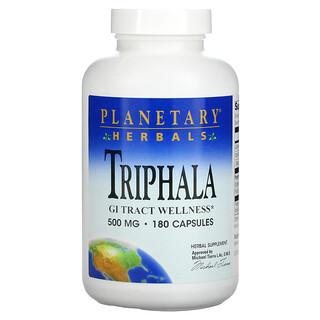 Planetary Herbals, Triphala, 500mg, 180 Gélules