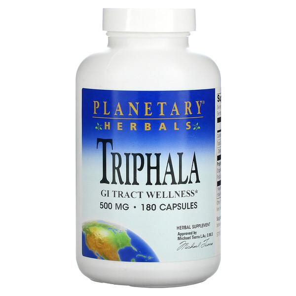 Triphala, 500 mg, 180 Cápsulas