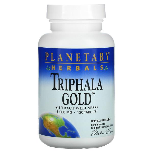 Triphala Gold, 500 mg, 120 Tablets