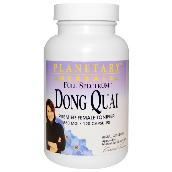 Planetary Herbals, Dong Quai, Full Spectrum, 550 mg, 120 Capsules (Discontinued Item)