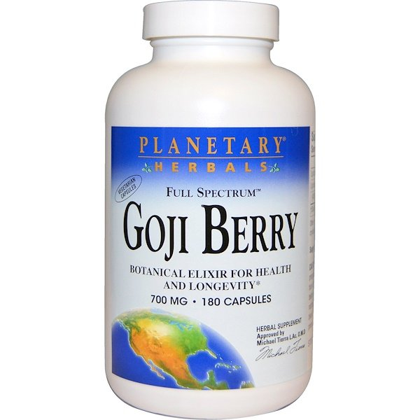 Full Spectrum Goji Berry, 700 mg, 180 Capsules