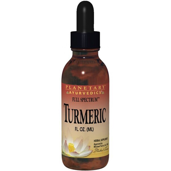 Planetary Herbals, Turmeric, Full Spectrum, 1 fl oz (29.57 ml)