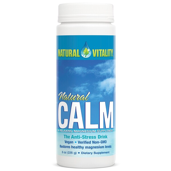 Natural Calm, The Anti-Stress Drink, Original (Unflavored), 8 oz (226 g)