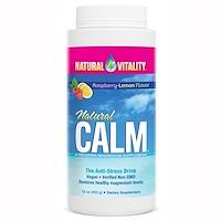 Natural Calm, антистрессовый напиток, вкус органической мяты и лимона, 453г - фото