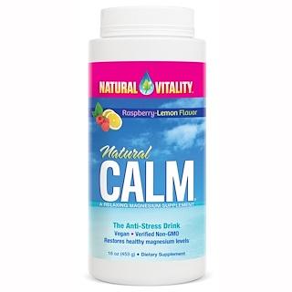 Natural Vitality, Natⁿrliche Ruhe, Anti-Stress-Drink, Himbeer-Zitrone-Geschmack, 16 oz (453 g)