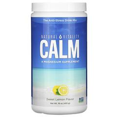 Natural Vitality, CALM,抗壓飲品,覆盆子檸檬味,16 盎司(453 克)