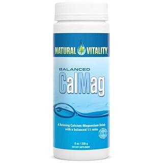 Natural Vitality, 균형잡힌 CalMag, 오리지널 (무향), 8 온스 (226g)