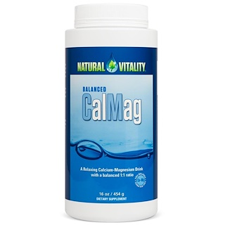 Natural Vitality, Balanced CalMag, Original (Unflavored), 16 oz (454 g)