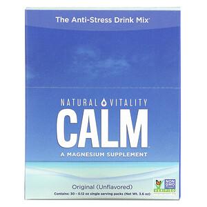 Натурал Виталити, CALM, The Anti-Stress Drink Mix, Original (Unflavored), 30 Single Serving Packs, 0.12 oz (3.3 g) Each отзывы покупателей