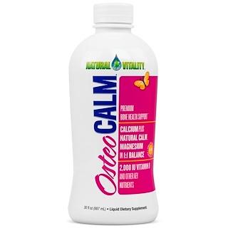 Natural Vitality, Osteo Calm, Premium Bone Health Support, 30 fl oz (887 ml)
