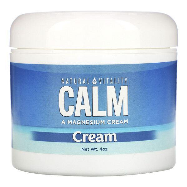 Natural Vitality, Natural Calm Cream, 4 oz