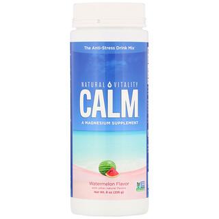 Natural Vitality, Calm, смесь для приготовления антистресс-напитка, арбуз, 226г (8унций)