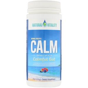 Натурал Виталити, Calm Specifics, Calmful Gut, Wildberry Flavor, 6 oz (170 g) отзывы