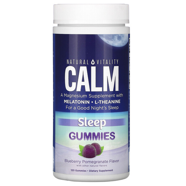 CALM, Sleep, Blueberry Pomegranate , 120 Gummies