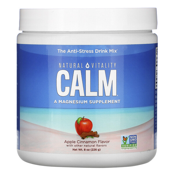 CALM, The Anti-Stress Drink Mix, Apple Cinnamon ,  8 oz (226 g)