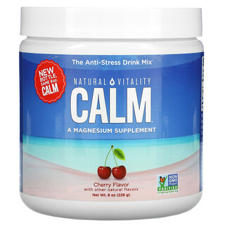 Natural Vitality, CALM, The Anti-Stress Drink Mix, Cherry,  8 oz (226 g)