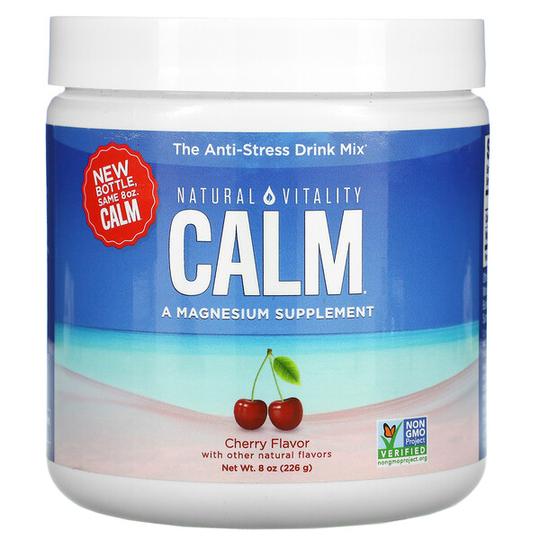 CALM, The Anti-Stress Drink Mix, Cherry ,  8 oz (226 g)