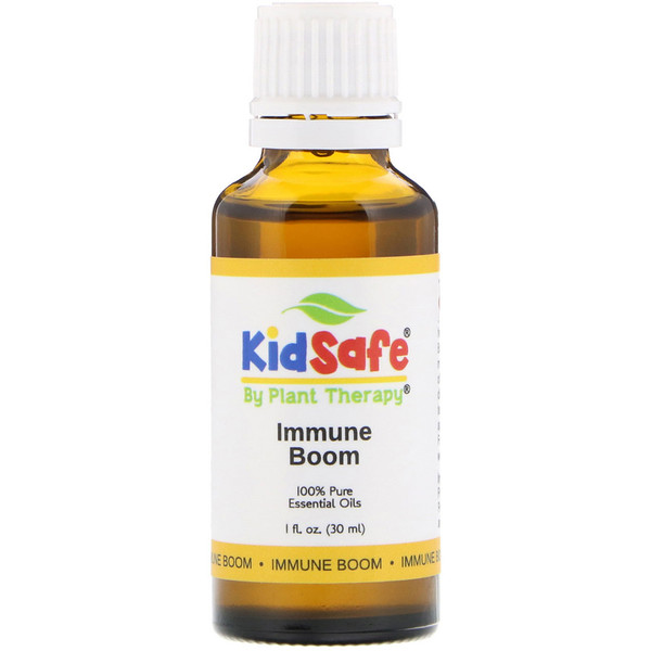 Plant Therapy, KidSafe, 100% Pure Essential Oils, Immune Boom, 1 fl oz (30 ml) (Discontinued Item)