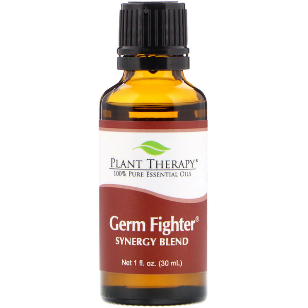 Plant Therapy, 100% Pure Essential Oils, Germ Fighter, 1 fl oz (30 ml) (Discontinued Item)