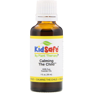 Plant Therapy, KidSafe, 100% Pure Essential Oils, Calming the Child, 1 fl oz (30 ml)