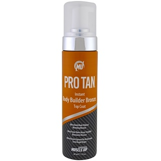 Pro Tan USA, Instant Body Builder Bronze Top Coat with Applicator, 7 fl oz (207 ml)