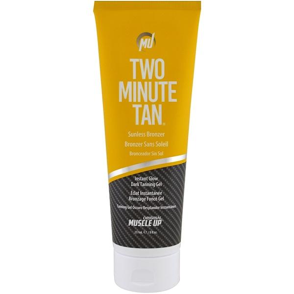 Pro Tan USA, Two Minute Tan Sunless Bronzer, Instant Glow Dark Tanning Gel, Step 2, 8 fl oz (237 ml)