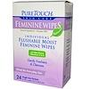 PureTouch Skin Care, المسحات الأنثوية، 24 وحدة