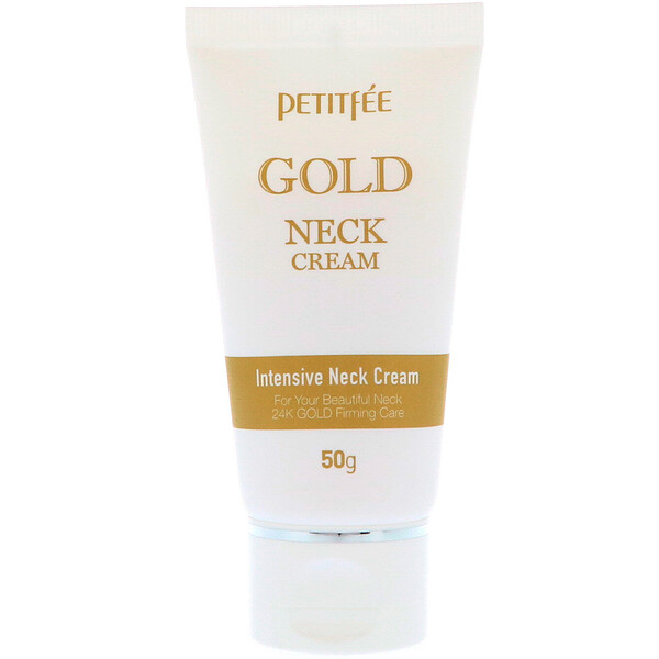 Petitfee, Gold Neck Cream, 50 g