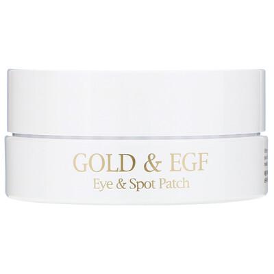 Купить Gold & EGF, патчи для глаз/прыщей, 60 патчей на глаза/30 патчей на прыщи