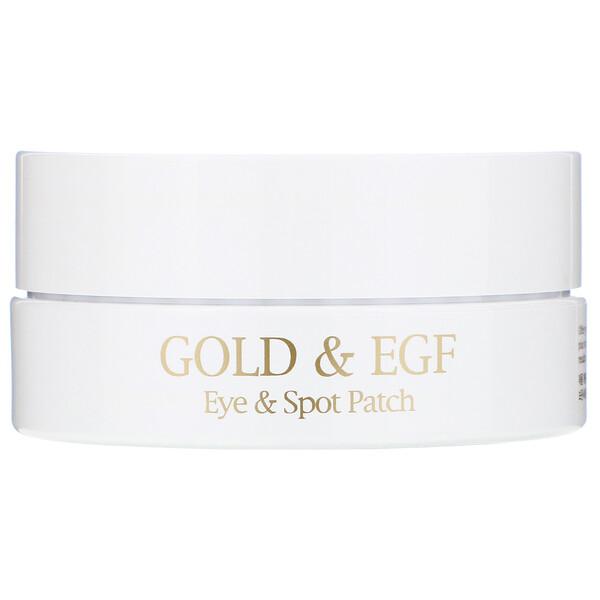 黃金 & EGF,眼膜和局部膜,60張眼膜/30張局部膜