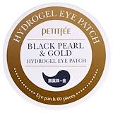 Отзывы о Petitfee, Black Pearl & Gold Hydrogel Eye Patch, 60 pieces