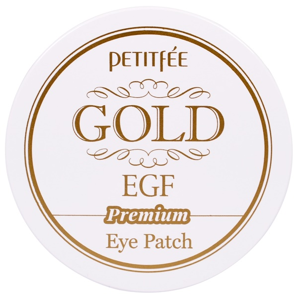 Petitfee, Gold EGF, Hydro Gel Eye Patch, 60 Patches (Discontinued Item)