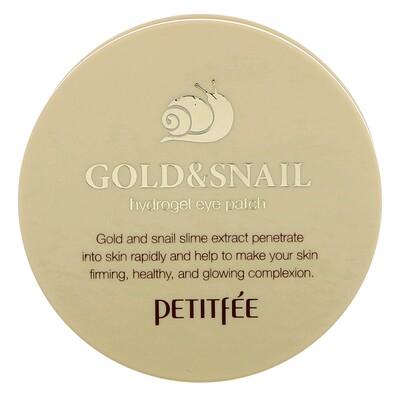 Патч на глаза с гидрогелем Gold & Snail, 60 шт.