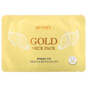 Петитфее, Gold Neck Pack, 5 Sheets, 10 g Each отзывы