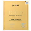 Petitfee, гидрогелевая маска для лица с золотом, 5шт.