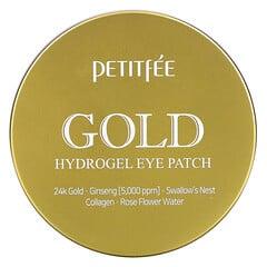 Petitfee, 黃金水凝膠眼膜,60貼