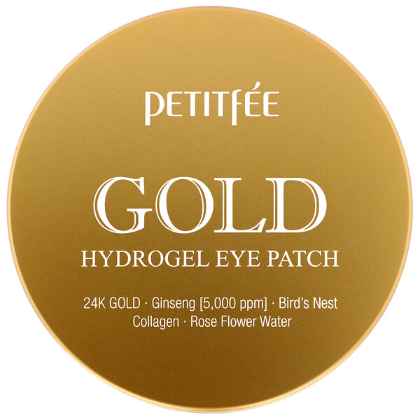Gold Hydrogel Eye Patch, 60 Pieces