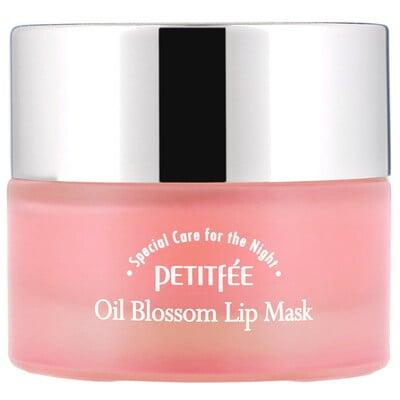 Купить Petitfee Oil Blossom, маска для губ, масло из семян камелии, 15г