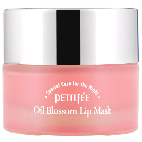 Oil Blossom Lip Mask, Camelia Seed Oil, 15 g
