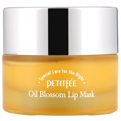 Купить Petitfee Маска для губ Oil Blossom Lip Mask с маслом камелии, 15 г