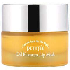 Petitfee, 花油唇膜,沙棘油,15 克