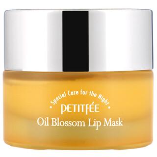 Petitfee, Oil Blossom Lip Mask, Sea Buckthorn Oil, 15 g